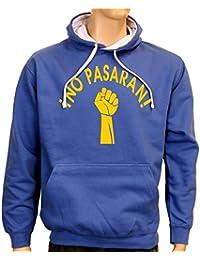 NO PASARAN ! Sweatshirt mit Kapuze - div. Farben Gr.S M L XL