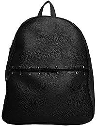 Hbos Traders Women's Backpacks Handbag (Black,Bag 91)