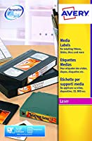 Avery L7671 Video Face Laser Labels Ref L7671 - Pack 300