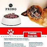 Frostfutter Nordloh Premium Rinder-Mix 10kg, tiefgekühltes Barf für Hunde