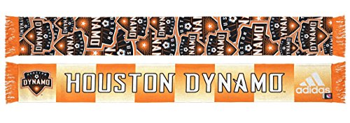 adidas Houston Dynamo MLS Repeating Logo Polyester Team Scarf