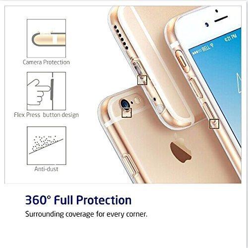 Sunroyal Creative 3D Custodia per Apple iphone 8 plus / 7 plus 5.5 Pollici, Trasparente Chiaro Case Cover Morbido in Silicone Gel e TPU Smartphone Accessori di Protettiva Cassa Caso in Premio Poliuret Modello 04