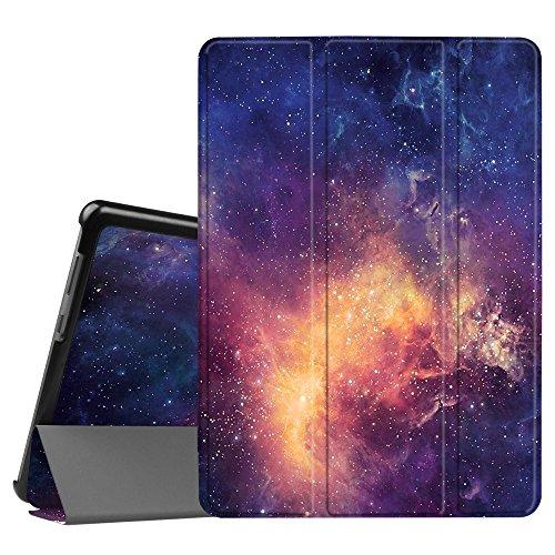 Fintie Huawei Mediapad T3 10 Hülle Case - Ultra Dünn Superleicht Flip Schutzhülle mit Zwei Einstellbarem Standfunktion für Huawei MediaPad T3 (9,6 Zoll) 24,3 cm Tablet-PC, Die Galaxie