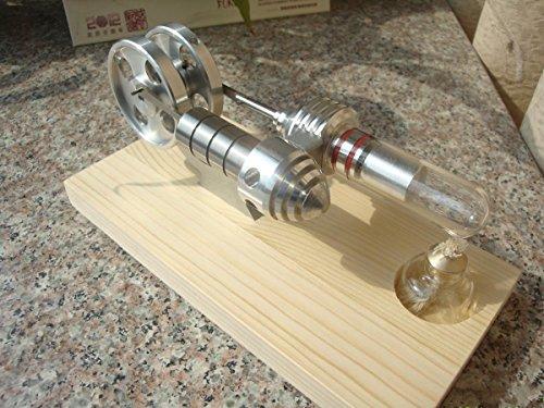 Mendocino 2 Licht (Pomcat KM15 Neue ( M14-06-S ) Stirlingmotor Dampfmaschine Modell Pädagogisches Spielzeug Kits)