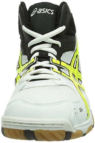 Asics Gel-Task Mt, Chaussures de volleyball homme Blanc (Hite)