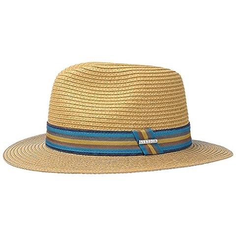 Monticello Toyo Traveller Hat Stetson men´s hat straw hat (XXL/62-63 - nature)