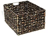 KMH, Kleine Korb-Box Hugo aus geflochtener Wasserhyazinthe Farbe: braun (#204071)