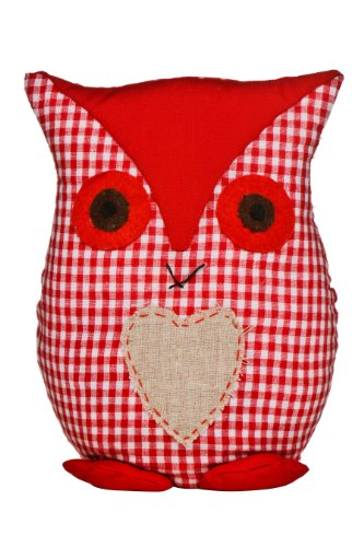 Premier Housewares Owl-Türstopper Rot - Owl-guard