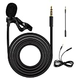 Best Lavalier Microphones - Ankuka Lavalier Lapel Condenser Microphone,Clip-on Omnidirectional Mic Review