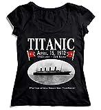 Best Organic Stores Friend Womens Shirts - MYMERCHANDISE Titanic April 1912 Women Women's Lady T-Shirt Review