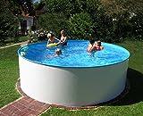Waterman Stahlwandbecken rundform 400x105 cm (SW 0,3 IH 0,25)