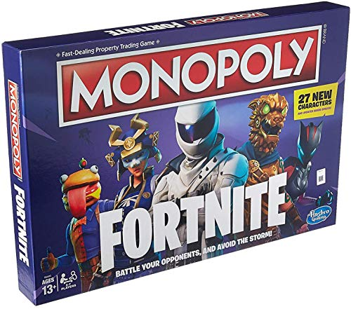 Monopoly: Fortnite Edition Board Game Inspired by Fortnite Video Game Ages 13 - Monopoly Fortnight