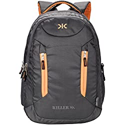Killer 400171410031 38-Litre Waterproof Backpack (Gray)