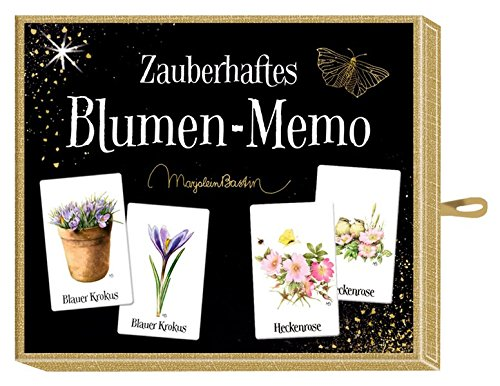 Schachtelspiel - Zauberhaftes Blumen-Memo (M. Bastin)