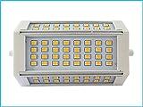Lampada Led R7S RX7S Lineare 118mm 30W=330W Bianco Neutro Con Ventilatore 220V 64 Smd 2835 0,5W