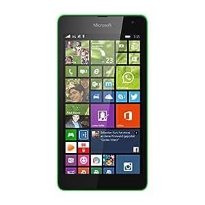 Nokia Lumia 535  Smartphone débloqué 5 pouces 8 Go Windows Vert (import Allemagne)