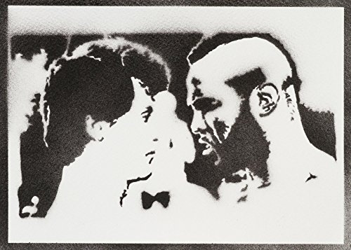 (Rocky Balboa Und Mister T Poster Plakat Handmade Graffiti Street Art - Artwork)