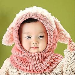 Cuello con bufanda de frio para niños y niñas