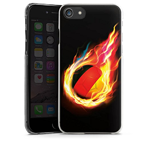 Apple iPhone 6 Plus Silikon Hülle Case Schutzhülle Fußball Sport Deutschland Hard Case transparent