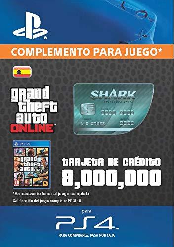 Grand Theft Auto Online - GTA V Cash Card | 8,000,000...