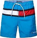 Tommy Hilfiger Jungen Flagge Badeshorts (6 Jahre, Brillanten Blau)
