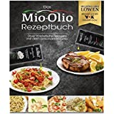 Mio-Olio 04110 Rezeptbuch & 20 Knoblauch-Öl & 20 Scharfes Chili-Öl   Zum Würzen von Speisen   100% Original-Rezeptur   Ohne Konservierungsstoffe   7.5 ml Je Portionsbeutel, 1er Pack (1 x 300 ml)