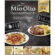 Mio-Olio 04110 Rezeptbuch & 20 Knoblauch-Öl & 20 Scharfes Chili-Öl | Zum Würzen von Speisen | 100% Original-Rezeptur | Ohne Konservierungsstoffe | 7.5 ml Je Portionsbeutel, 1er Pack (1 x 300 ml)