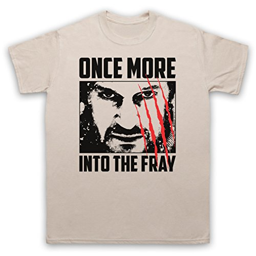 Inspiriert durch The Grey Once More Into The Fray Unofficial Herren T-Shirt Beige