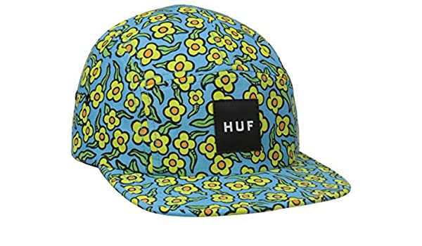 ed7de66000788 Huf x Krooked Flowers Volley 5 Panel Cap - Peacock  Amazon.co.uk  Clothing