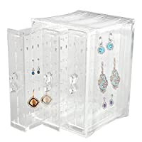 Discoball Acrylic Earrings Holder Jewellery Organiser