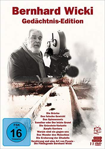 Bernhard Wicki - Gedächtnis-Edition (Filmjuwelen) [11 DVDs]