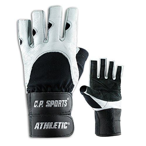 Athletik-Doppelbandagen-Handschuh F10 Gr.XL - Fitnesshandschuhe mit Bandage, Kraftsport & Bodybuilding