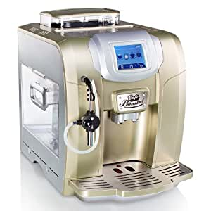 CAFE BONITAS / RetroStar Pearl / Kaffeevollautomat / Touchscreen / Wochentimer / 19 Bar / 2L Tank / Kaffeeautomat