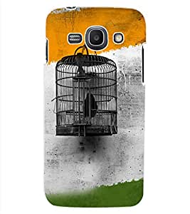 ColourCraft Cage Design Back Case Cover for SAMSUNG GALAXY ACE 3 3G S7270