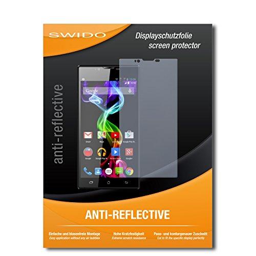 SWIDO Bildschirmschutz für Archos 55 Platinum [4 Stück] Anti-Reflex MATT Entspiegelnd, Hoher Härtegrad, Schutz vor Kratzer/Glasfolie, Schutzfolie, Bildschirmschutzfolie, Panzerglas Folie