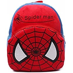 Richy Toys Spiderman Cute Kids Plush Backpack Cartoon Toy Children's Gifts Boy/Girl/Baby/Student Bags Decor School Bag For Kids (Spiderman)