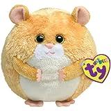 Ty 7138005 - Flash Ball Hamster Stoffball Beanie Ballz, 12 cm