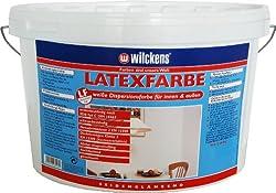 Wilckens Latexfarbe seidenglänzend, 5 L, weiß 13490200090