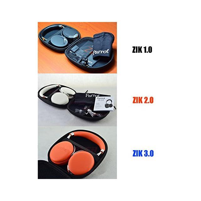 Parrot Zik 3 By Starck Casque Audio Bluetooth Chargeur à Induction