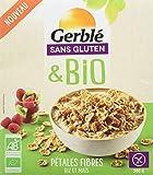 Gerblé Pétales Fibres Riz Maïs sans Gluten Bio 300 g