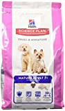 Hill's Hundefutter Small and Miniature Mature Adult, 1.5 kg, 1er Pack (1 x 1.5 kg)