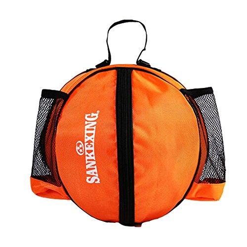 Phoenix Wonder Sporttasche Basketball Fußball Volleyball Bowling Bag Carrier-,Orange