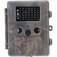 Docooler HT-002AA Wildtier Jagd Kamera HD Digital Infrarot Pfadfindertum Spur Kamera IR LED Video Rekorder 12MP Regendicht