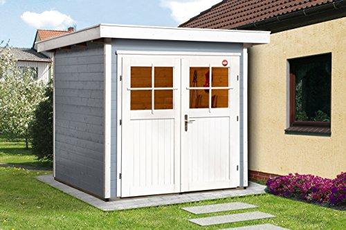 Weka Gartenhaus 227 Größe 1 grau