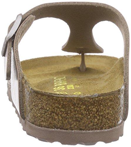 Birkenstock Gizeh - Sandali con Cinturino alla Caviglia Donna Beige (Graceful Hazel)