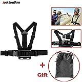 Action Pro 1 xAdjustable Body Harness Chest Belt Strap Mount 1 x Storage Bag Accessory for GoPro SJcam Yi