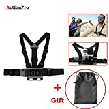 #3: Adjustable Body Harness Chest Belt Strap Mount with STORAGE BAG Accessory ( SAME AS ORIGINAL GO PRO)For GoPro SJcam Yi