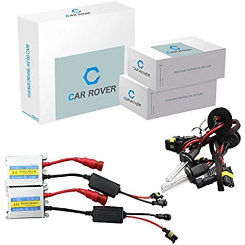 Car Rover® 9006/HB4 Nascosto Luce Allo Xeno kit di conversione Lampada del faro 12V 35W 4300K