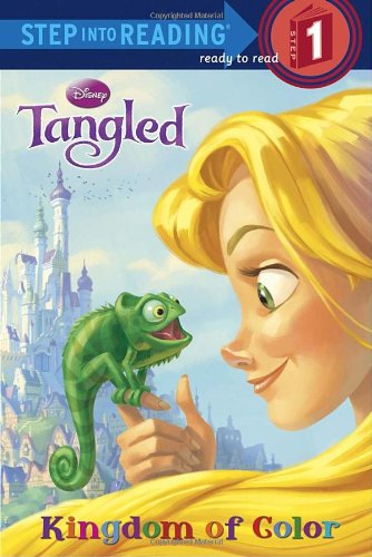 Tangled: Kingdom of Color (Disney Tangled: Step Into Reading, Step 1)