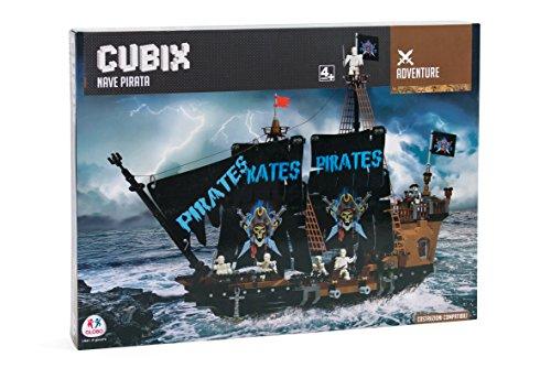 Cubix 37074 - costruzioni galeone dei pirati